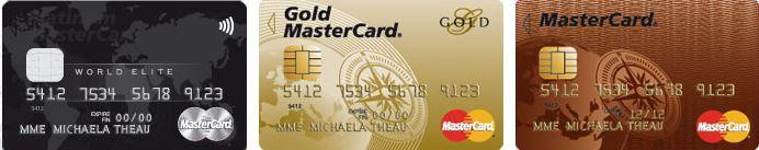 Cartes de cr dit mastercard - Plafond carte maestro credit agricole ...