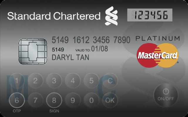 Carte MasterCard LCD