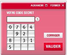 clavier virtuel société générale accès particuliers
