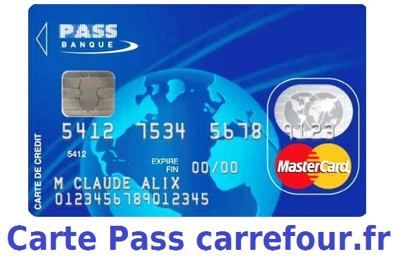 carte pass de carrefour banque