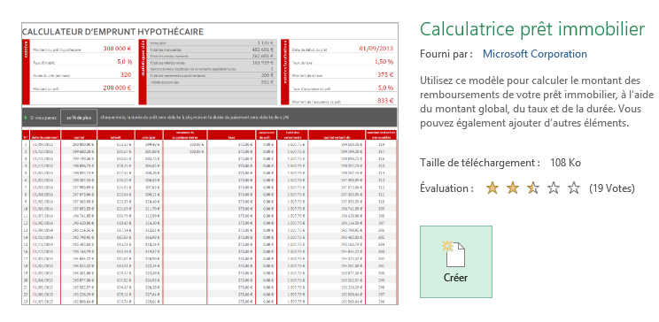 calculateur d'emprunt immobilier