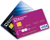 renouvellement carte bancaire Boursorama