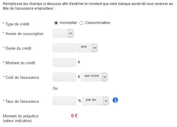 remboursement assurance prêteur
