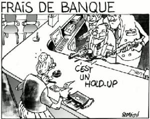 frais de banque